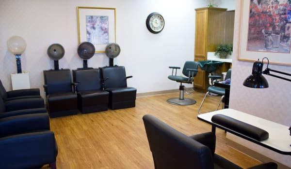 Hair salon at Azalea Estates of Shreveport in Shreveport, Louisiana.