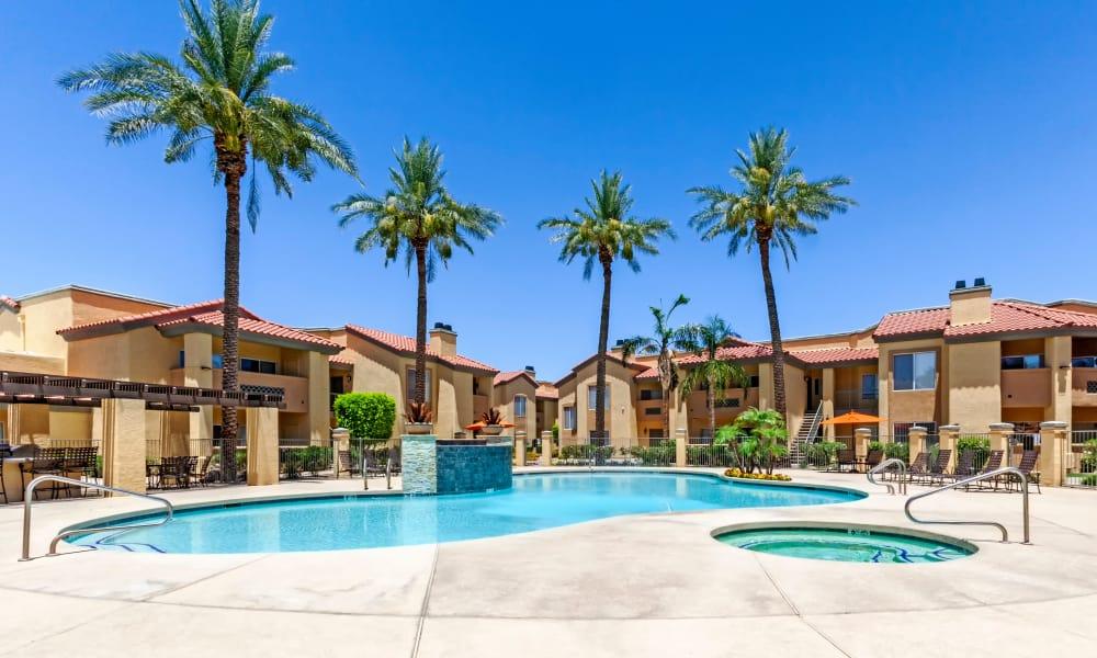 Beautiful Pool at Tresa at Arrowhead Apartments in Glendale, AZ