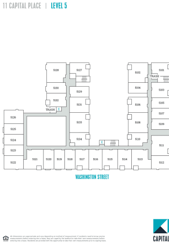 Capital Place Building 11, level 5 site plan