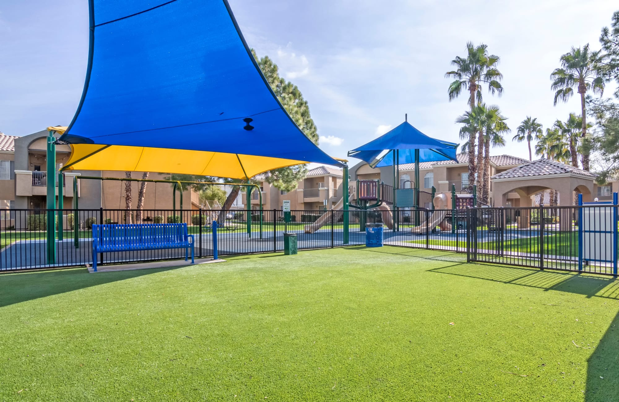 Playground at The Boulevard in Phoenix, Arizona