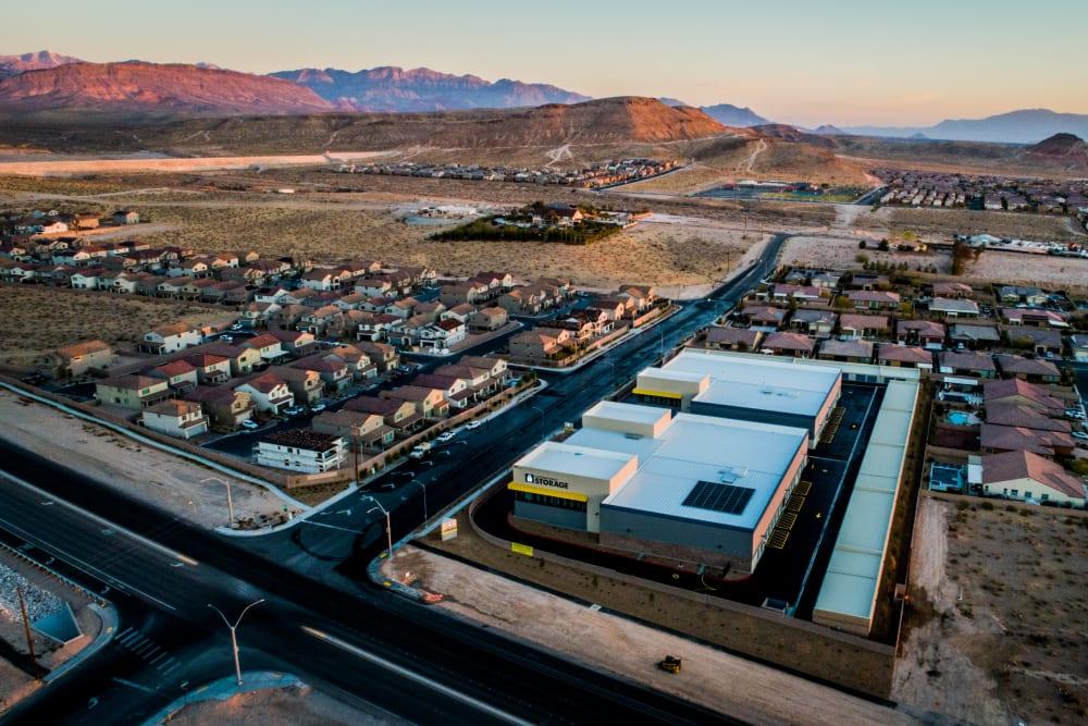 Alternate Aerial image of Golden State Storage - Blue Diamond facility in Las Vegas, NV