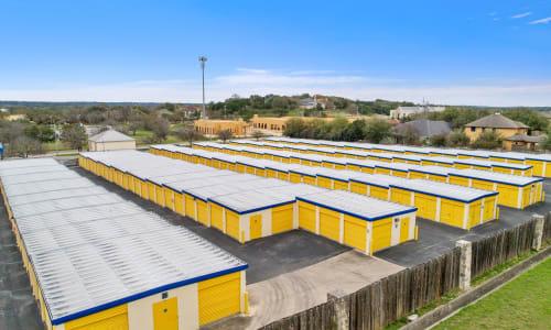 Huebner Mini-Stor offers Exterior Storage Units in San Antonio