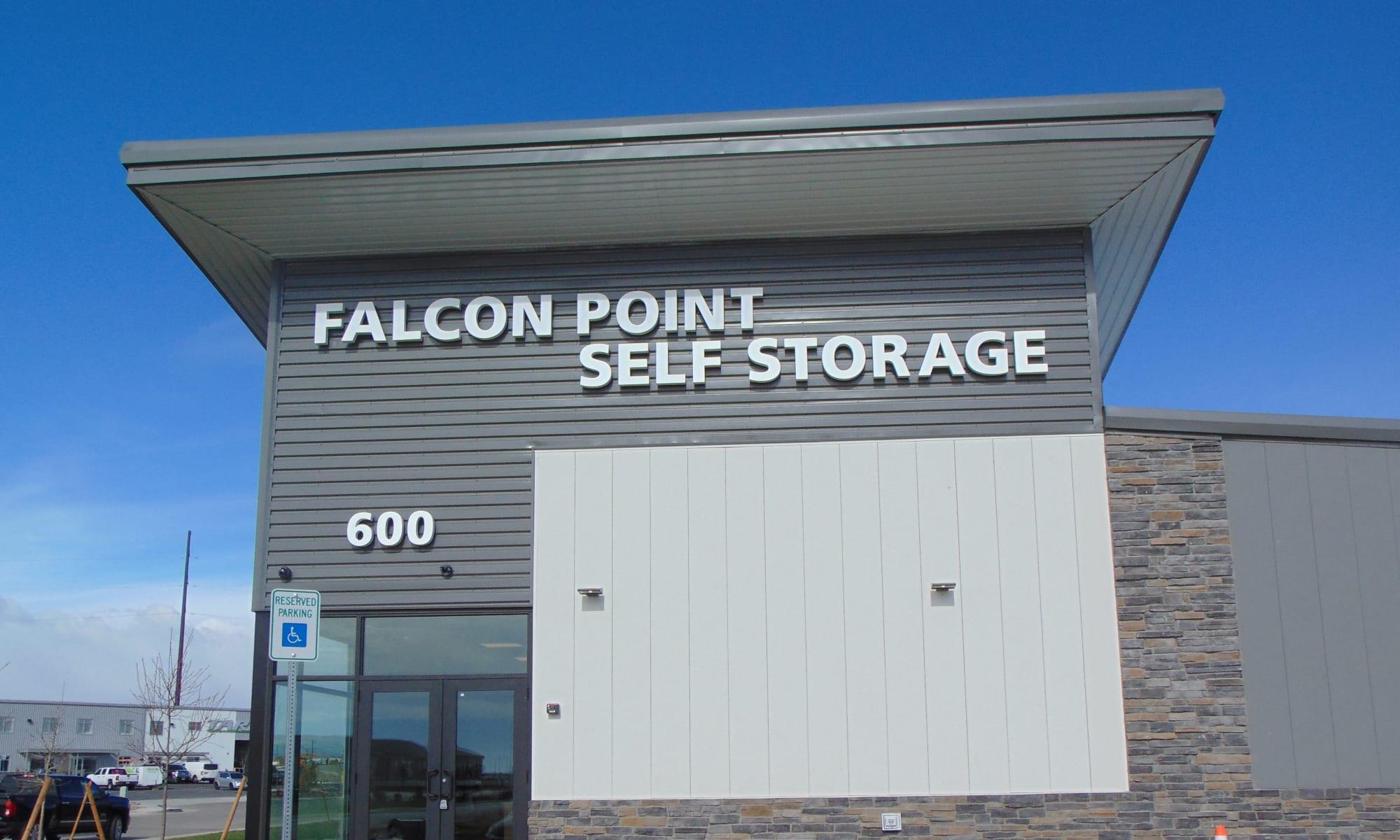 Falcon Point Self Storage in Windsor, Colorado