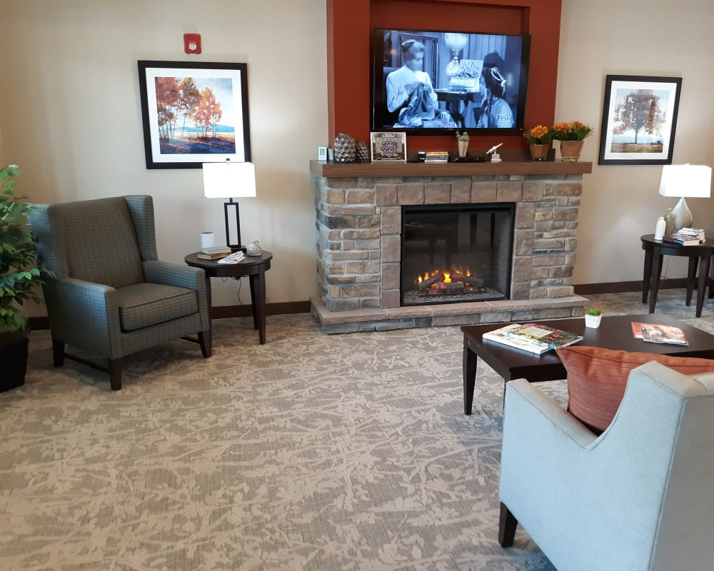 Resident living space at Country Meadow Place in Mason City, Iowa.