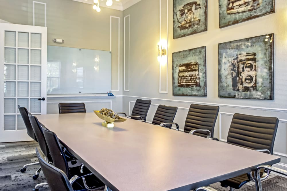 Conference room at Provenza at Southwood in Tallahassee, Florida