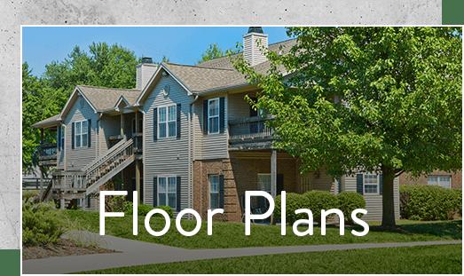 Floor plans at Cooper Creek in Louisville, Kentucky