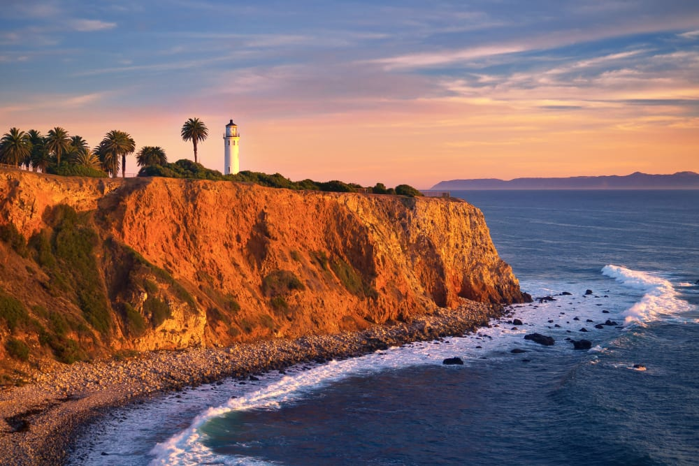 ocean views near Merrill Gardens at Rolling Hills Estates in Rolling Hills Estates, California.