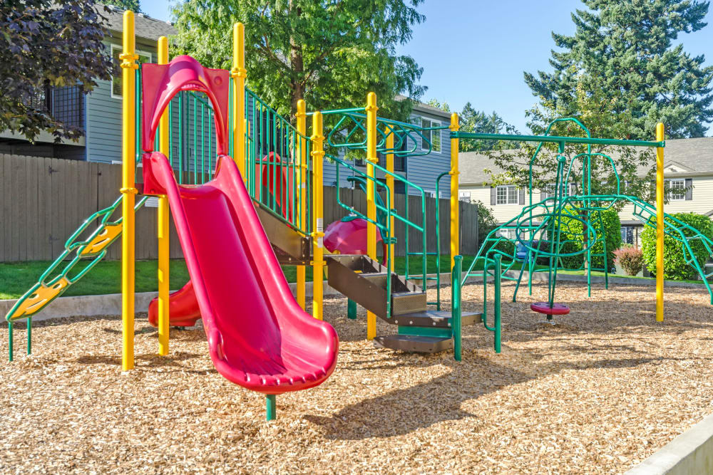 Outdoor playground at Madison Park Apartments in Vancouver, Washington