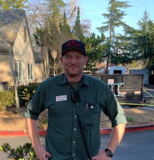 Andy Franck, Maintenance Director at Blossom Vale Senior Living, CA