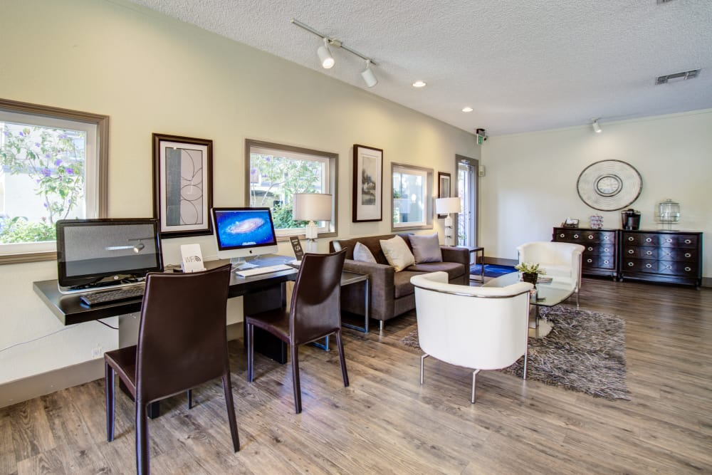 Our apartments in Fremont, California showcase a spacious living room