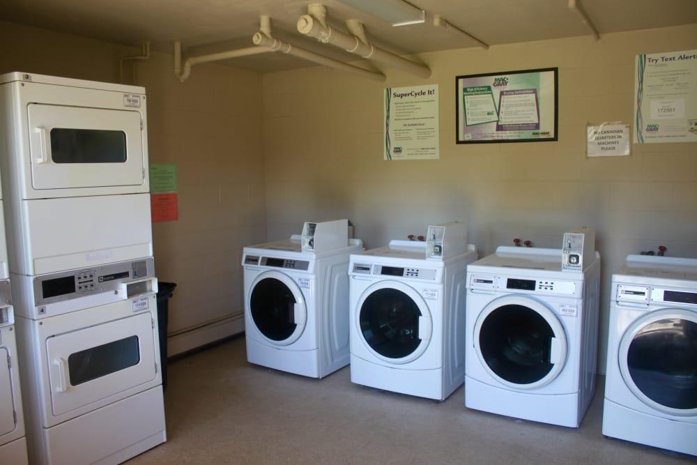 Laundry Facility at Campus Edge at Brigham
