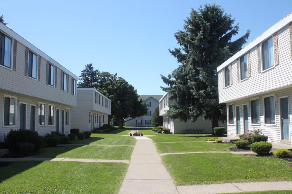 Pathway at Campus Edge at Brigham