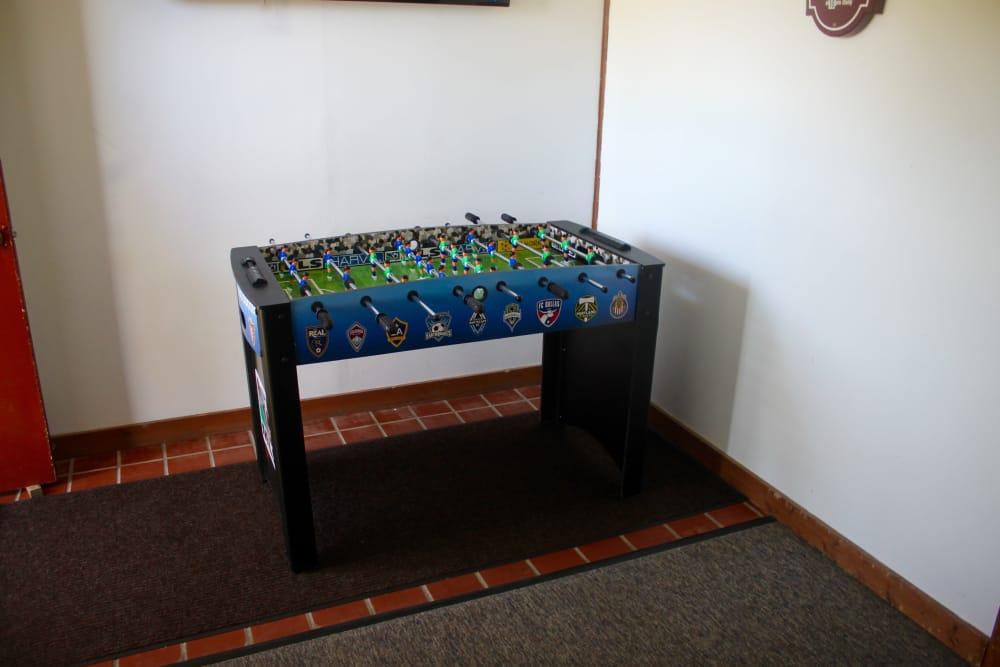 Foosball Table at Campus Edge at Brigham