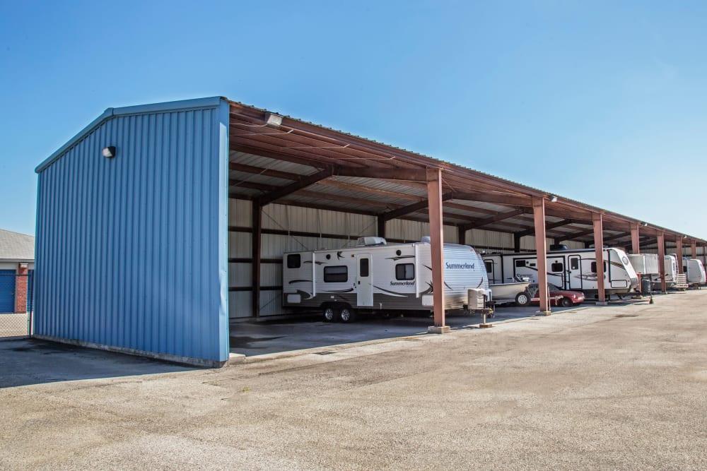 RV, boat storage at Metro Self Storage in La Marque, Texas