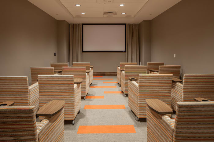 Movie room at All Seasons Naples in Naples, Florida