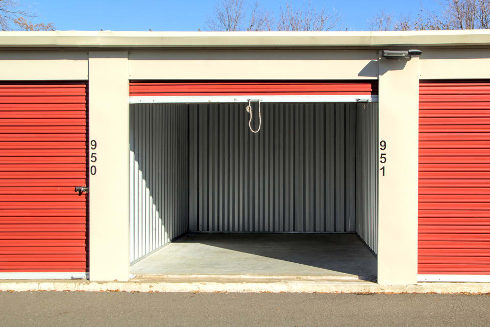 Open unit at Prime Storage in Schenectady, NY