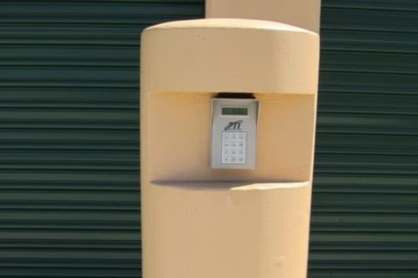 Keypad entry at Acorn Self Storage - Brentwood in Brentwood, California