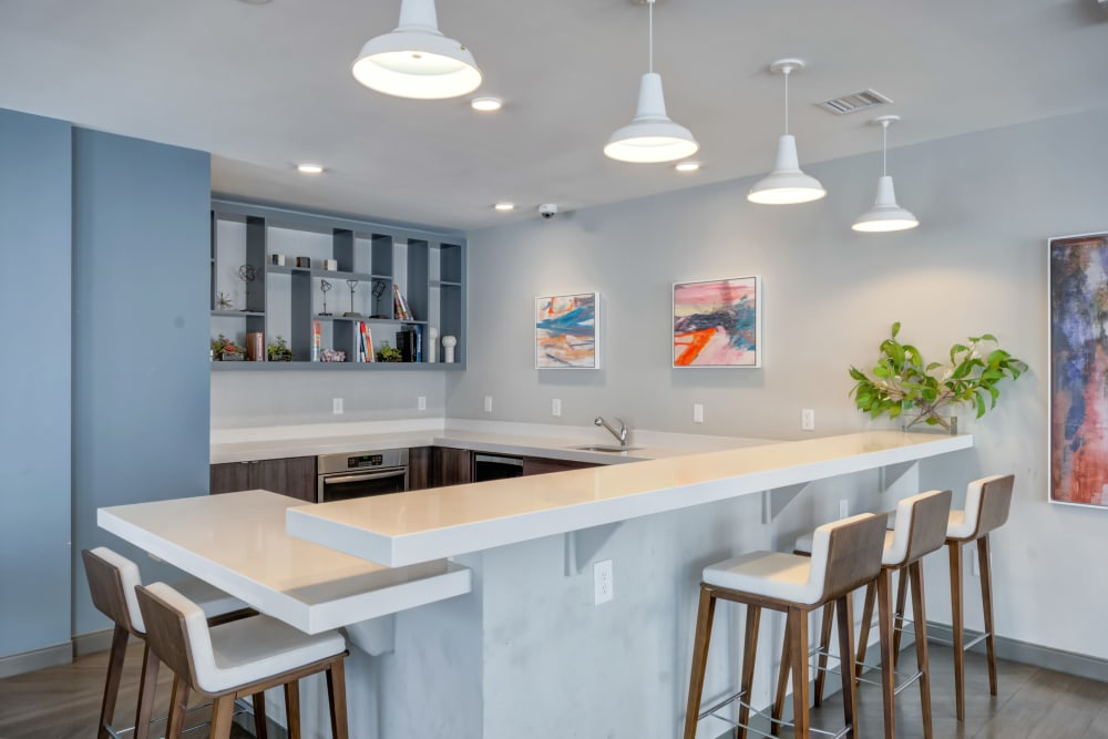 Luxurious modern kitchen at Crossings at Olde Towne