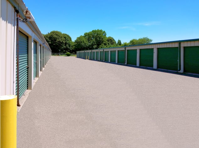 Outdoor units at Prime Storage in Centereach, New York