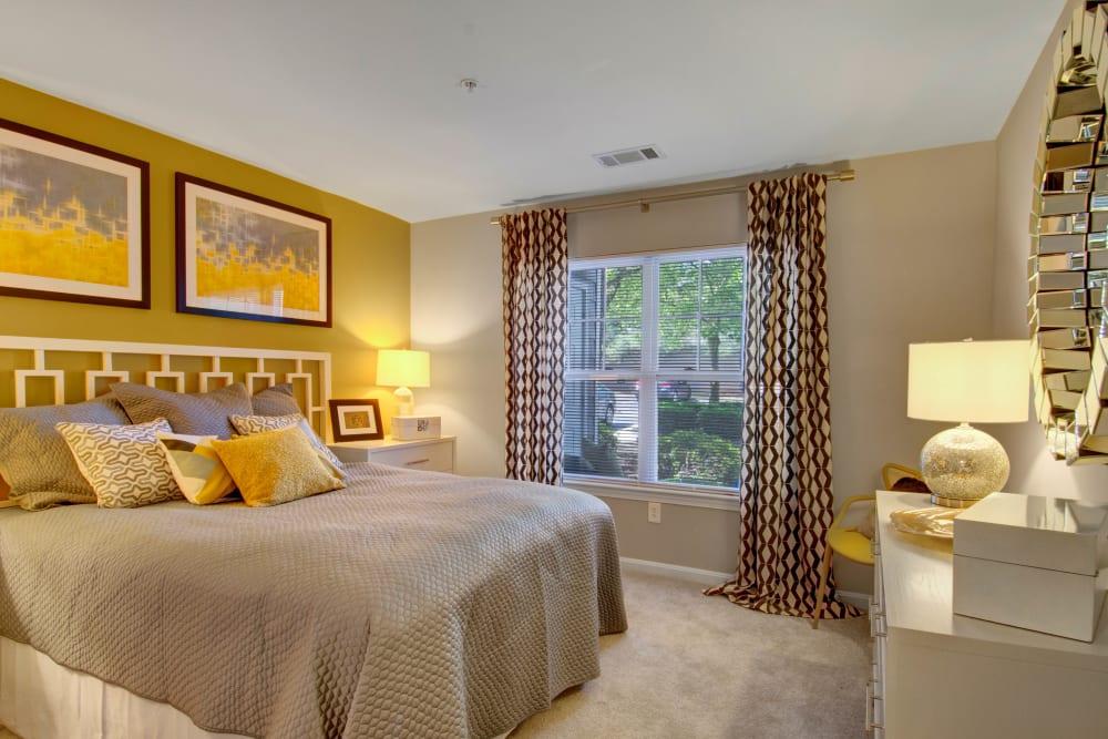 Spacious bedroom at Ellington Metro West in Westborough, Massachusetts
