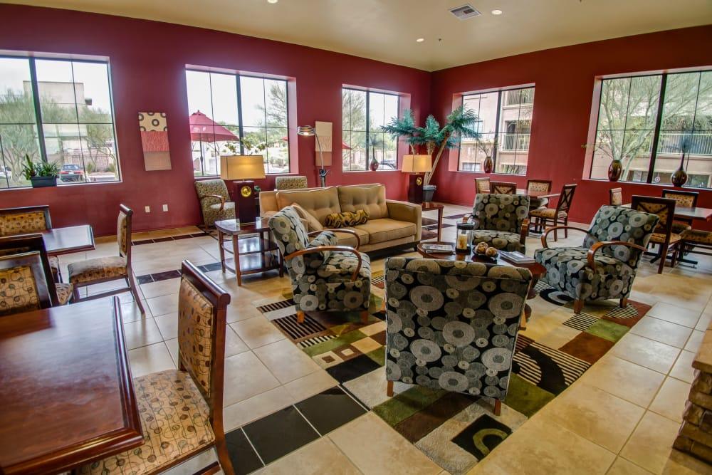 Clubhouse at Oro Vista Apartments in Oro Valley, Arizona
