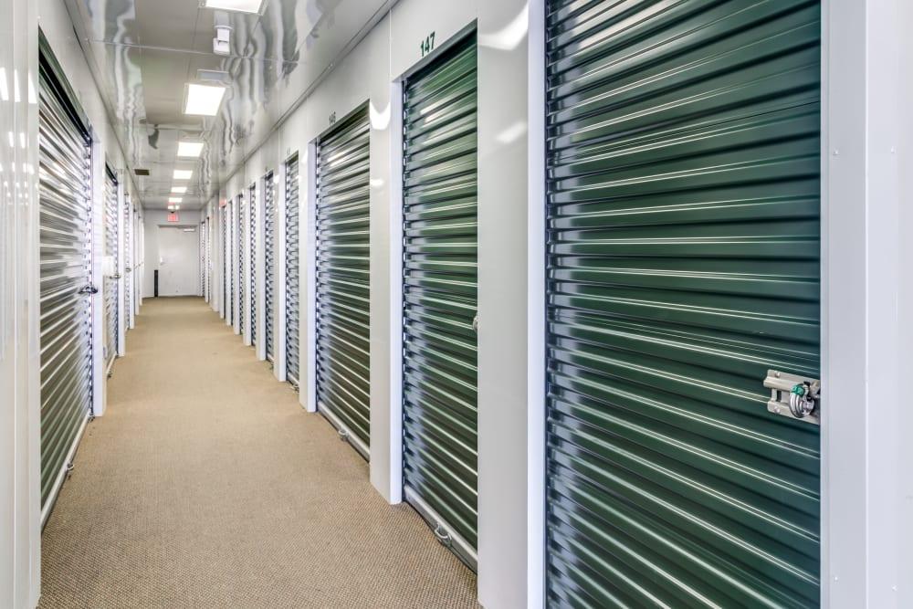 Interior units at Metro Self Storage in Amarillo, Texas