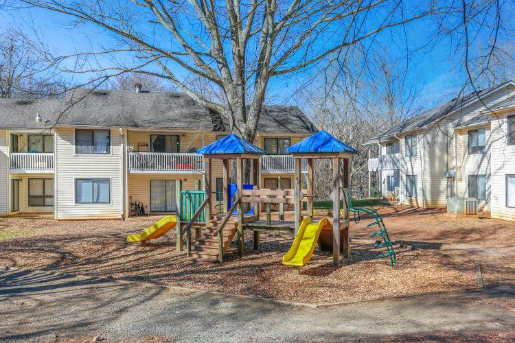 Playground at The Flats at Arrowood in Charlotte, North Carolina
