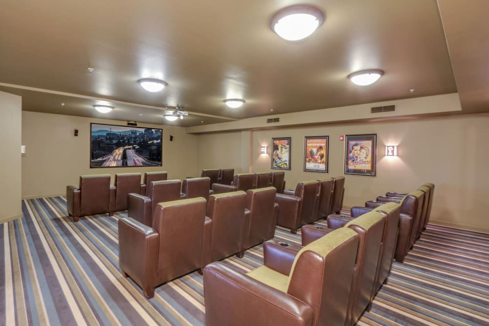 A movie theater that is great for entertaining at Affinity at Southridge in Kennewick, WA