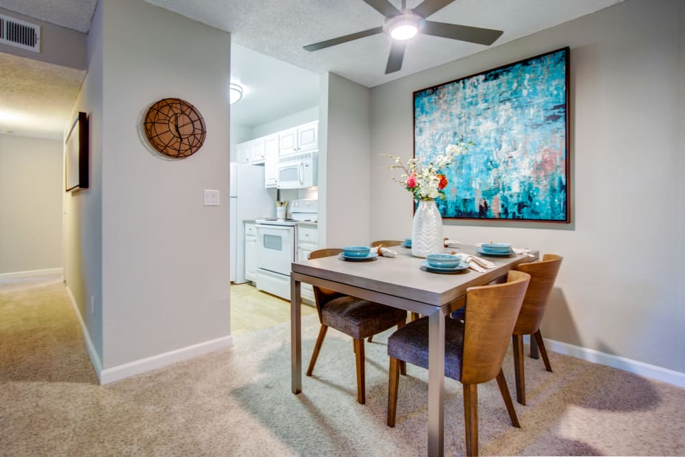 Our apartments in Fremont, California showcase a modern kitchen