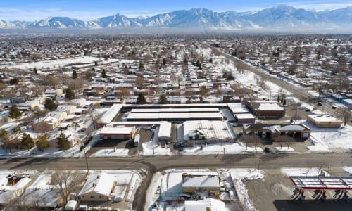 Storage Star West Valley in West Valley, Utah self storage Aerial View