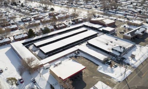 Aerial Street View at Storage Star West Valley in West Valley, Utah