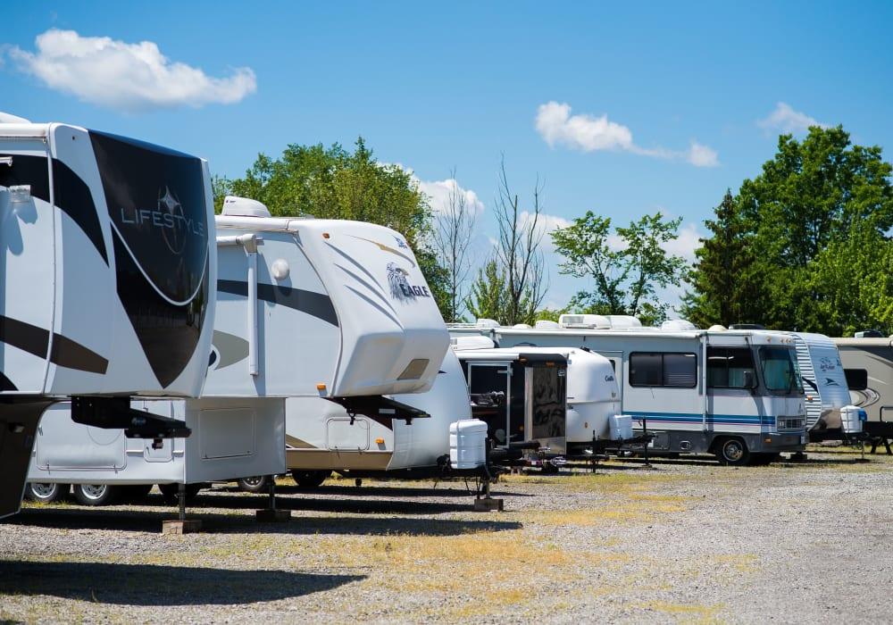 RV and boat storage is available at Bronco Mini Storage in Welland, Ontario