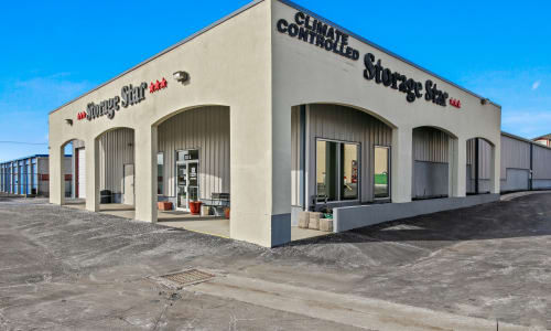 Front Office of storage units in Roy, Utah