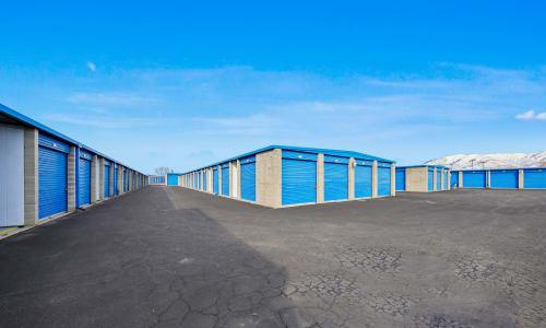 Exterior Storage Units at Storage Star in Roy, Utah