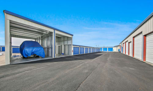 Boat Storage at our self storage facility in Roy, Utah