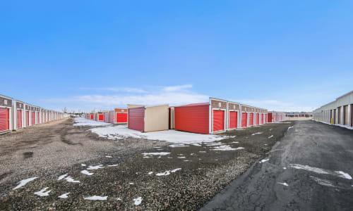 Loveland, Colorado storage facility Exterior Storage Units