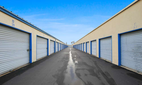 Storage Star in Modesto, California Exterior Storage Units