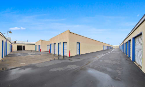 Storage facility Exterior Storage Units at Storage Star in Modesto,