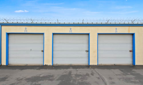 Storage Star features Exterior Storage Units in Modesto, California