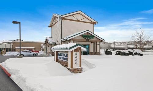 Storage Street View at Market Place Self Storage in Park City, Utah