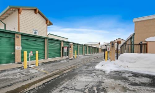 Park City, Utah storage facility Exterior Storage Units