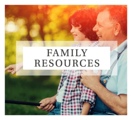 Visit our family resources page for additional information to help you decide if Mill Hill Residence is right for you or your loved one