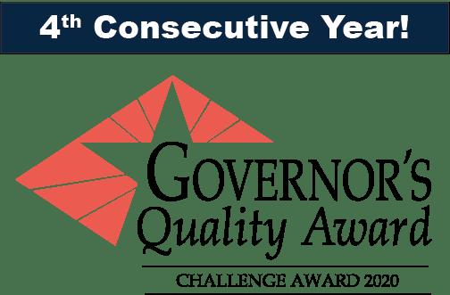 2020 governor's award logo