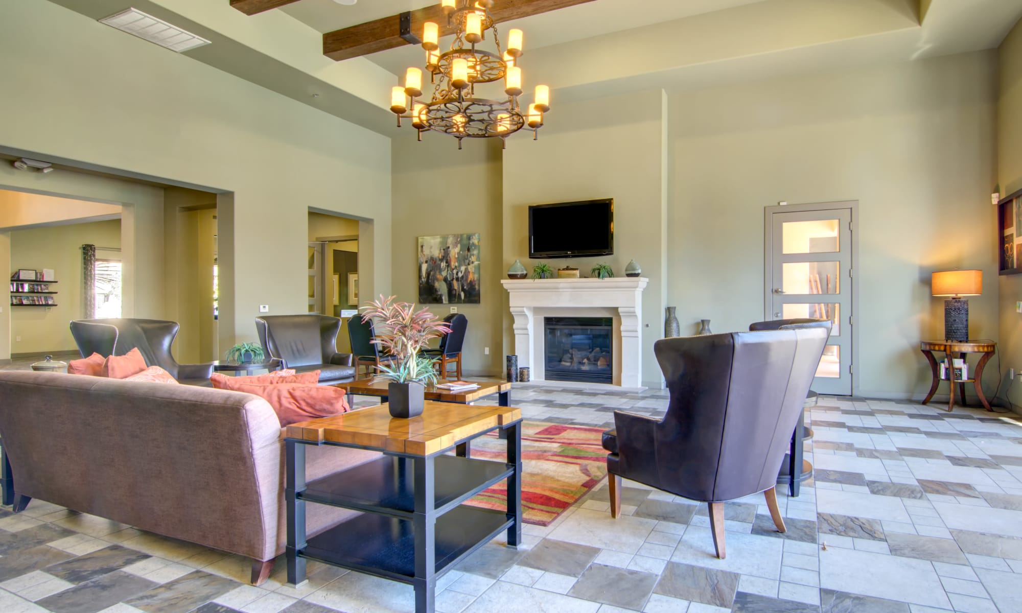 Apartments at The Residences at Stadium Village in Surprise, Arizona