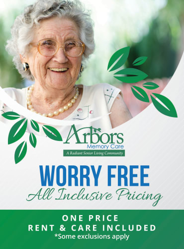 Learn more about Arbors Memory Care's all inclusive pricing
