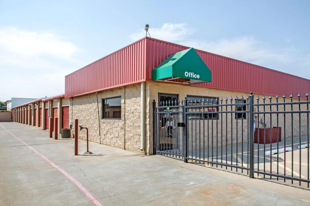Office Exterior view at Metro Self Storage in Amarillo, Texas