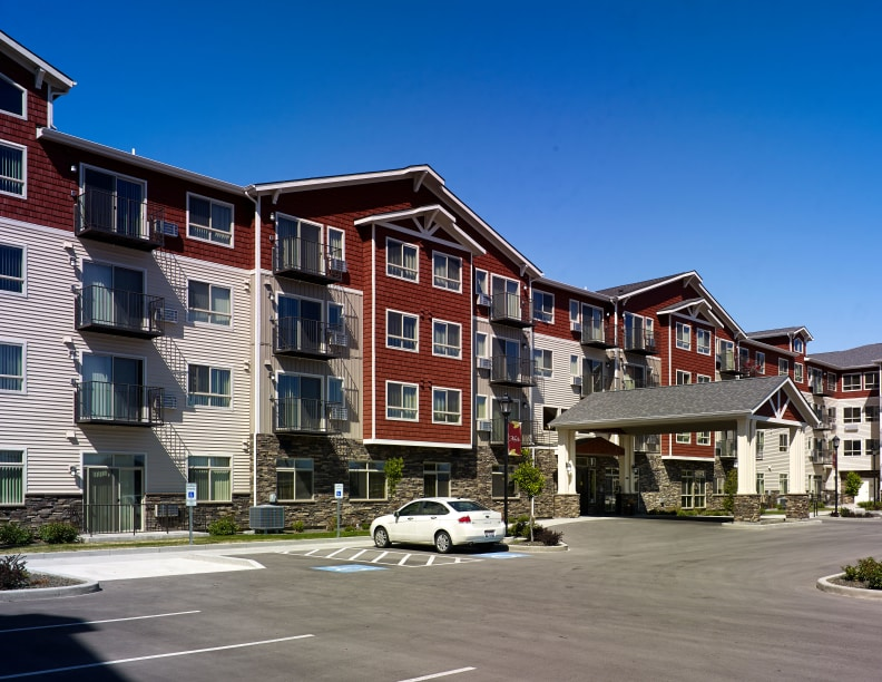 Ample parking at Affinity at Boise