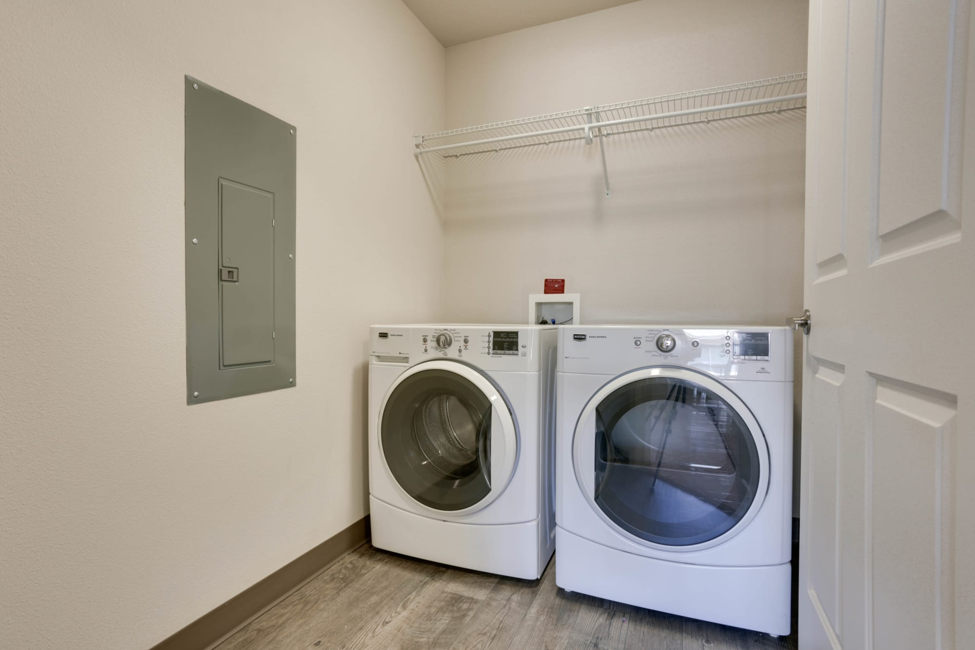Washer & Dryer at Terrene at the Grove