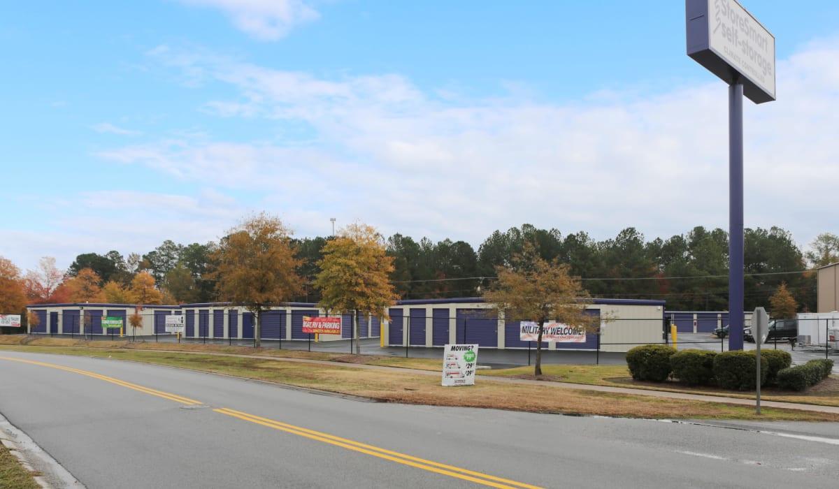 Gate at StoreSmart Self-Storage in Columbia, South Carolina