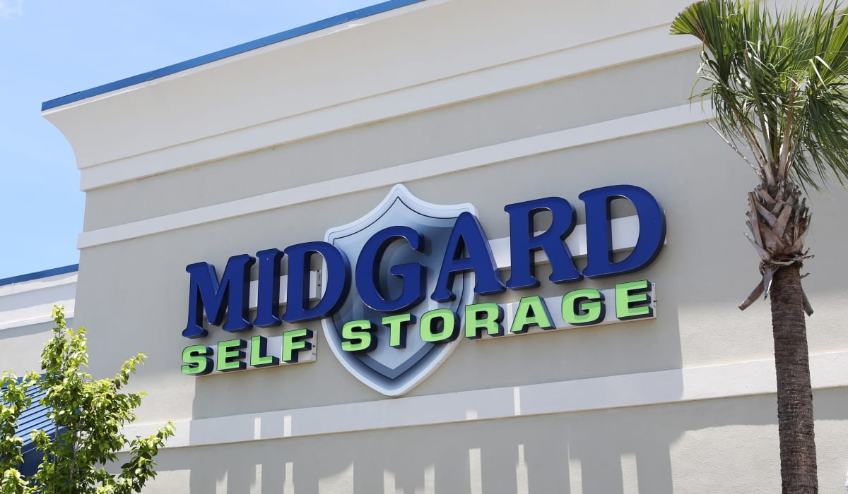 Office Exterior at Midgard Self Storage in Naples, FL